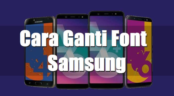 Cara Mengganti Font Samsung Galaxy A20 (100% Berhasil) 2