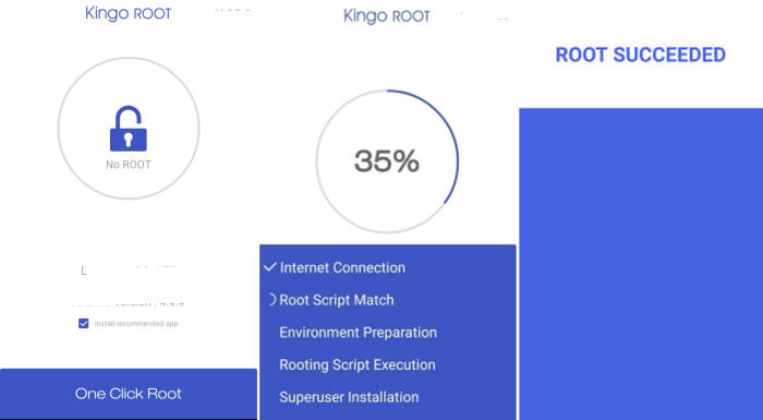Root Samsung Galaxy J1 mini via KingoRoot