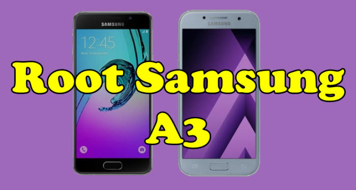 Root Samsung A3